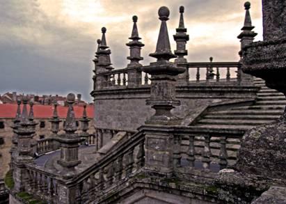 Santiago de compostela ciudad patrimonio de la humanidad for Tejados galicia
